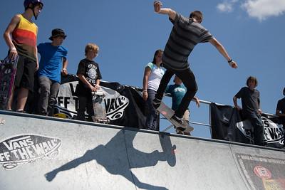 Vans Warped Tour Half Pipe 2012