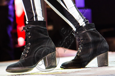 COSTA MESA, CA - AUGUST 02:  Singer / actress Victoria Justice (boot detail) performs at Pacific Amphitheatre on August 2, 2012 in Costa Mesa, California.  (Photo by Chelsea Lauren/WireImage)