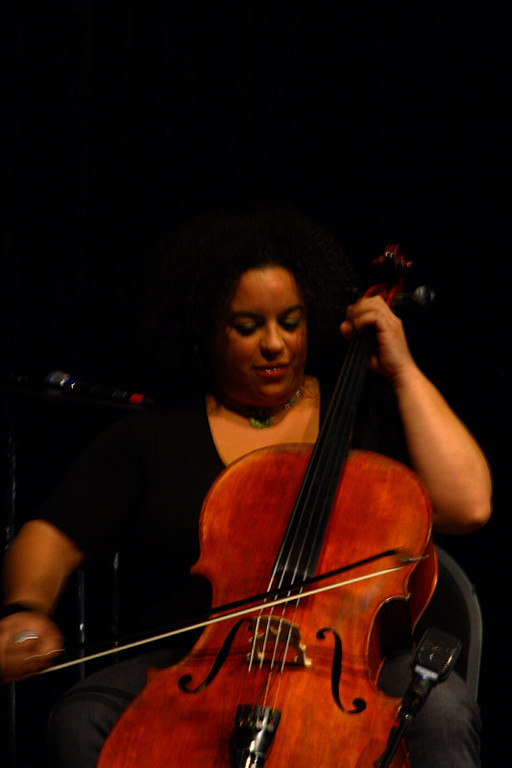 Marika playing the Cello.