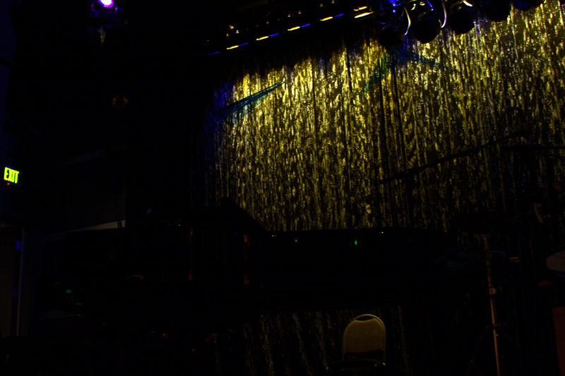 The curtain before we started the greatest event ... ever!  ..or was it...the background?
