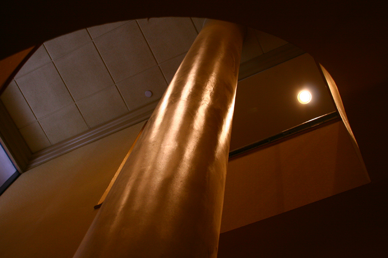 Column at the Sheraton hotel.