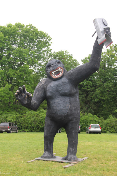King Kong  ...  by Mark CLine