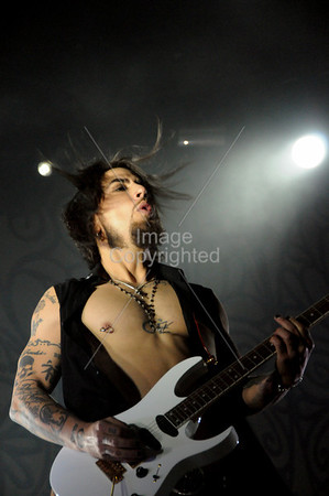 Dave Navarro Of Jane's Addiction. Voodoo Music Festival 2009.