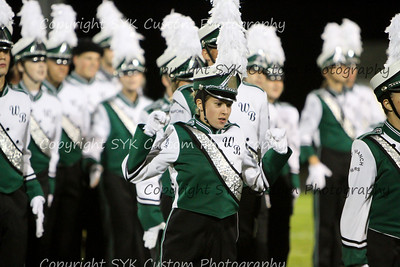 WBHS Band vs Carrollton-24