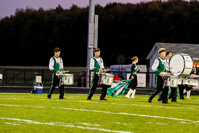 WBHS Band vs West Holmes-8