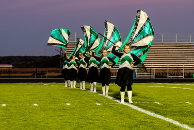 WBHS Band vs West Holmes-11