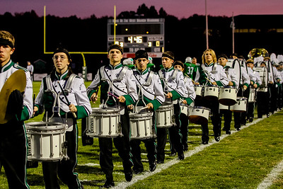 WBHS Band vs West Holmes-17
