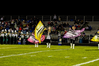 WBHS Band vs West Holmes-18