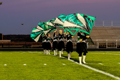 WBHS Band vs West Holmes-13