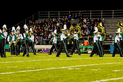WBHS Band vs West Holmes-22