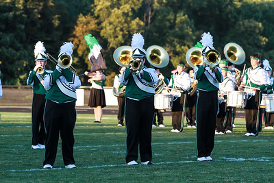 WBHS Band vs Howland-1