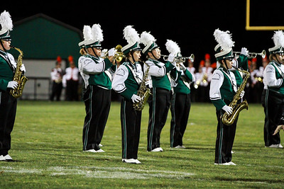 WBHS Band vs Howland-22