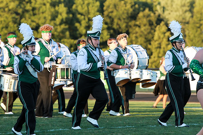 WBHS Band vs Howland-2