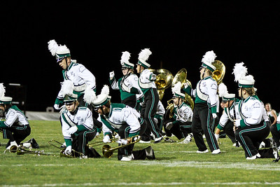 WBHS Band vs Howland-46
