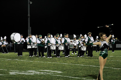 WBHS Band vs Howland-13