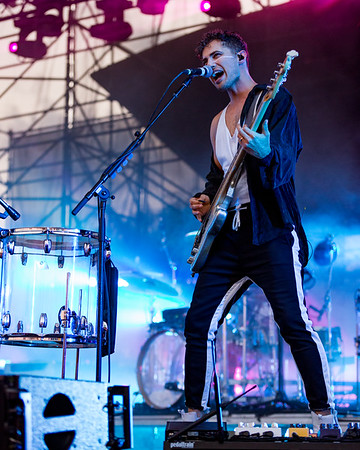 August 1, 2018 Walk The Moon press restart tour at the Farm Bureau Insurance Lawn at White River State Park. 📸: Tony Vasquez for Entranced Media