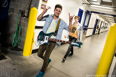 Walk The Moon performs on December 9, 2012 during the 93.3 FLZ Jingle Ball at Tampa Bay Times Forum in Tampa, Florida
