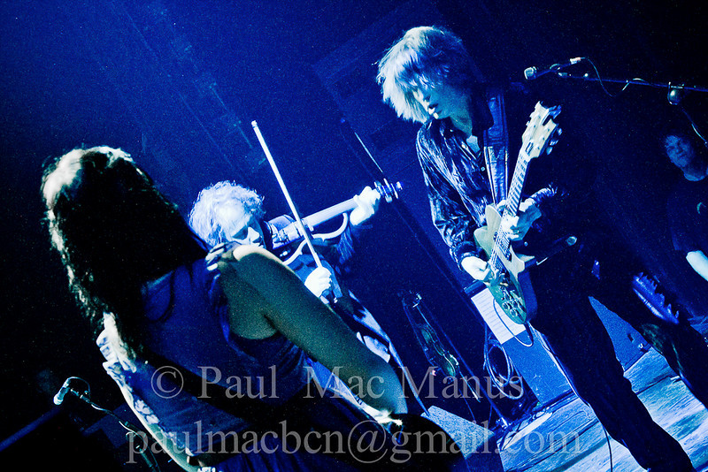 WBGL-8 Katie Kim, Steve Wickham and Mike Scott, The Waterboys. Dublin, March 2010