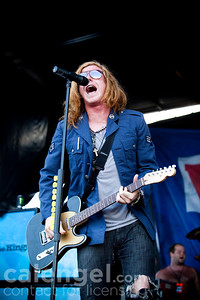 We The Kings perform live at Vans Warped tour in Milwaukee, WI on 07/29/10