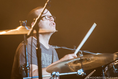 Patrick Wilson of Weezer performs on November 9, 2012 at The Mahaffey in St. Petersburg, Florida