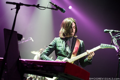 Brian Bell of Weezer performs on November 9, 2012 at The Mahaffey in St. Petersburg, Florida
