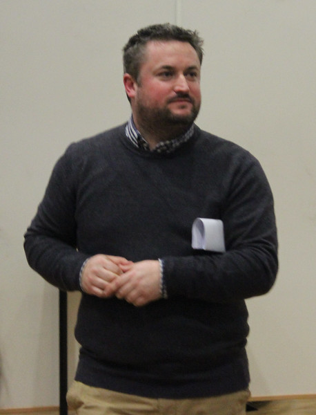 WOS Conductor (and one of the 3 judges) Lee Marchant