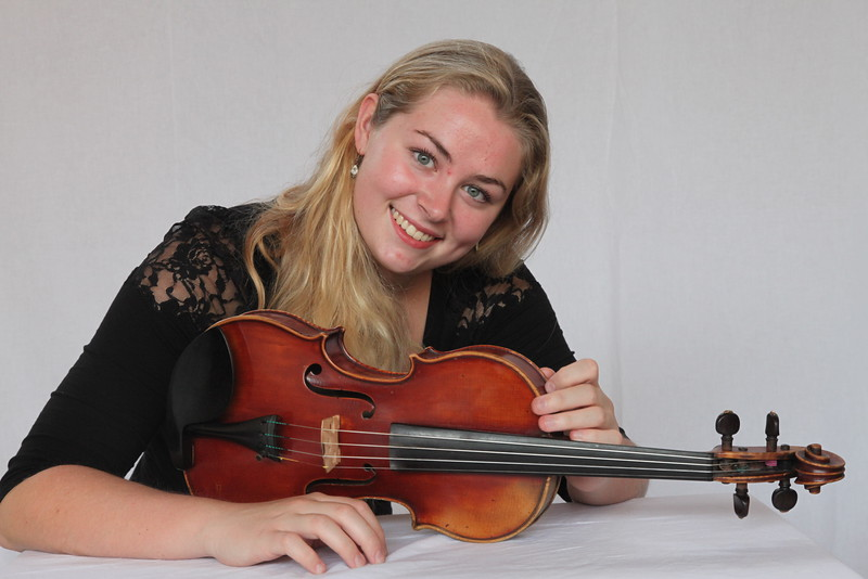 Violinist Amarins Wierdsma, winner of our 2016 Age 21+ Concerto Competition