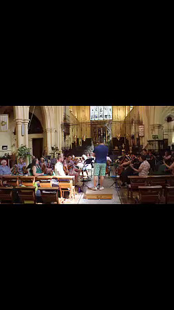 WOS Barber Adagio For Strings Rehearsal 11 Jul 2015 (Extract)