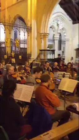WOS Schubert Unfinished Rehearsal 20 Nov 2015 (Extract)