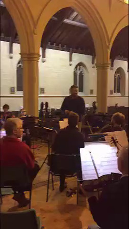 WOS Rehearsal Magnificent Seven 5 Feb 2016