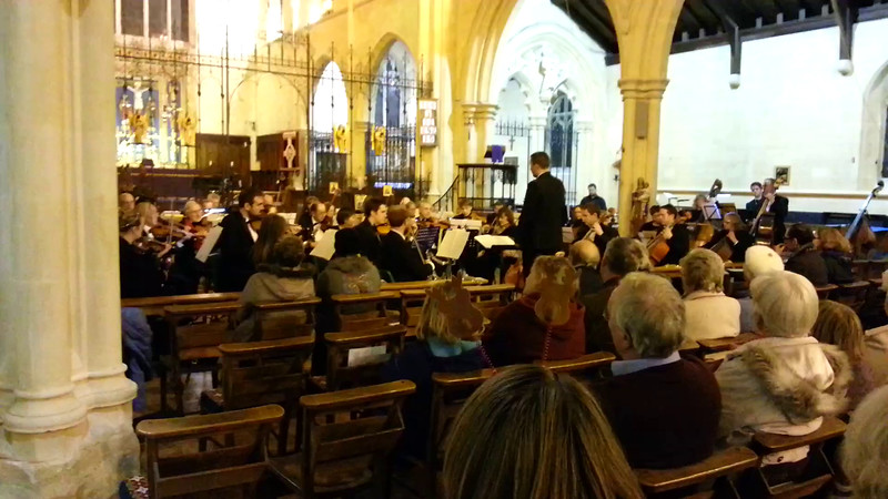 Winter Wonderland (Extract) from WOS Concert 12 Dec 2014