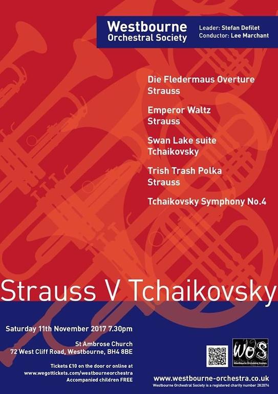 Westbourne Orchestra Concert Poster Nov 2017