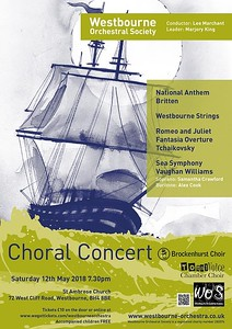 WOS Concert Poster May 2018
