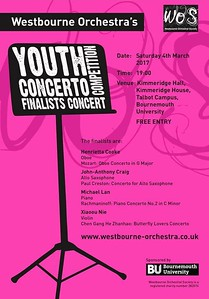 WOS Concerto Finalists Concert 2017