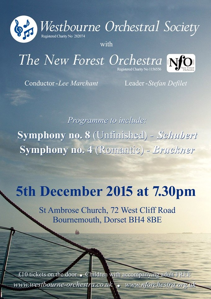 Poster for WOS Concert 5 Dec 2015