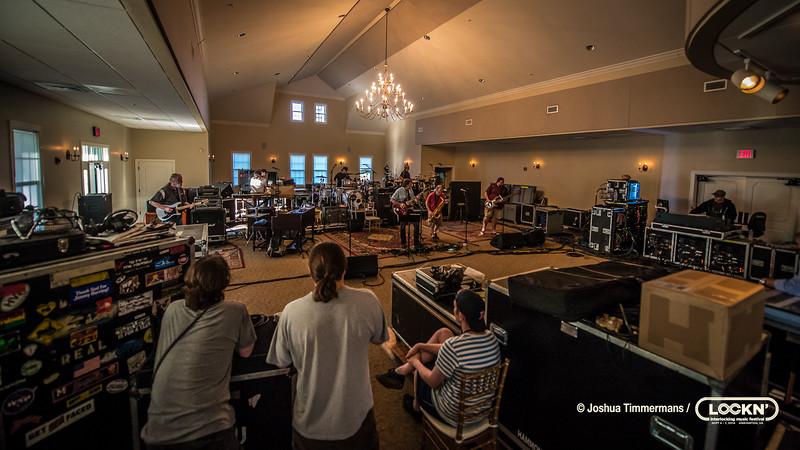 Lockn' Festival Widespread Panic & Steve Winwood rehearsals