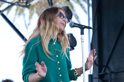 Wild Belle, 10/14/2012, Treasure Island Music Festival, San Francisco