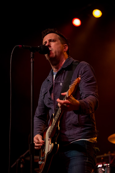 October 20, 2018 Will Hoge opening for Social Distortion in Indianapolis, Indiana. Photo by Tony Vasquez
