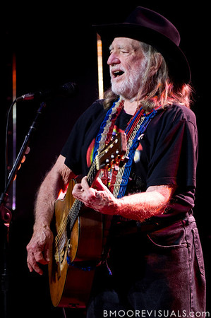 Willie Nelson performs on February 17, 2011 at Van Wezel Performing Arts Hall in Sarasota, Florida