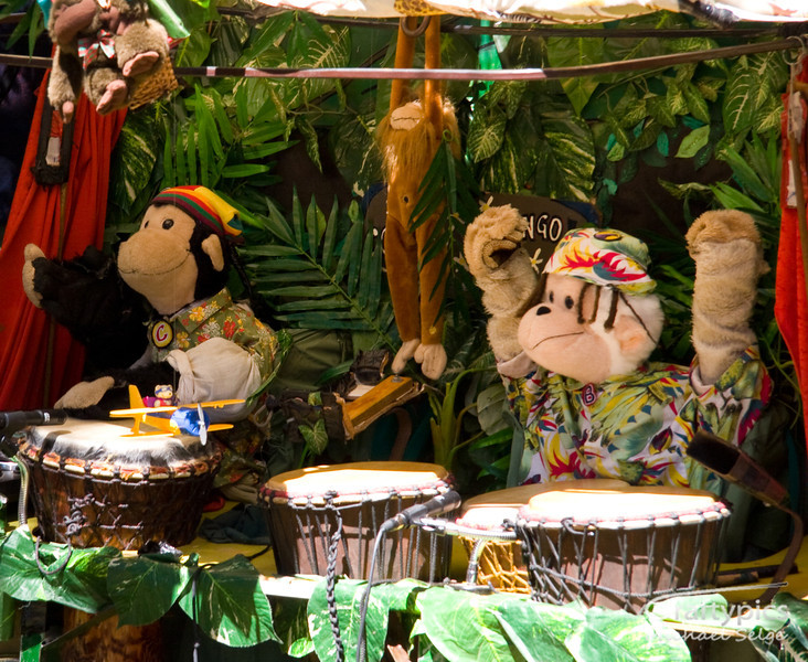 The Amazing drumming Monkeys @ Womad 2006<br /> Congo and Bongo - Captivating for Kids and Adults alike