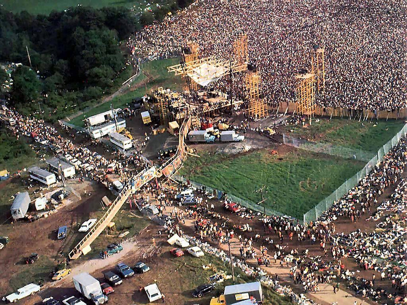 Woodstock 1969 Concert Site Douging
