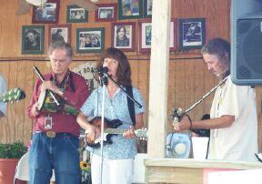 David Amram, Marie Burns & Bob Childers.