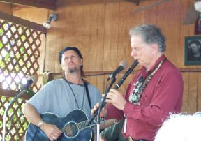 Jimmy LaFave & David Amram.