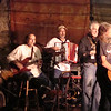 Randy Crouch with the house band and David Amram