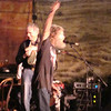 David Amram and Randy Crouch at the end of Randy's amazing set.