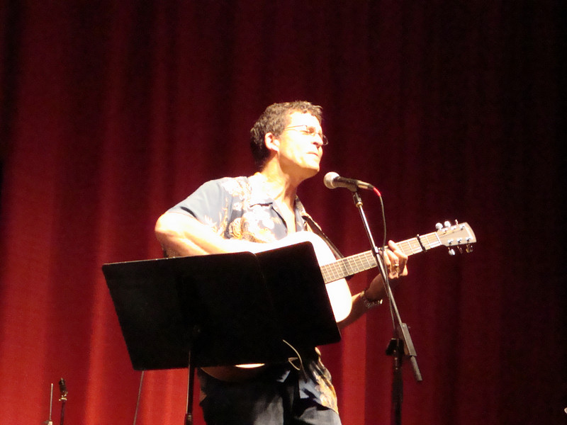 Jon Vezner at the Crystal Theater on Friday, July 10.