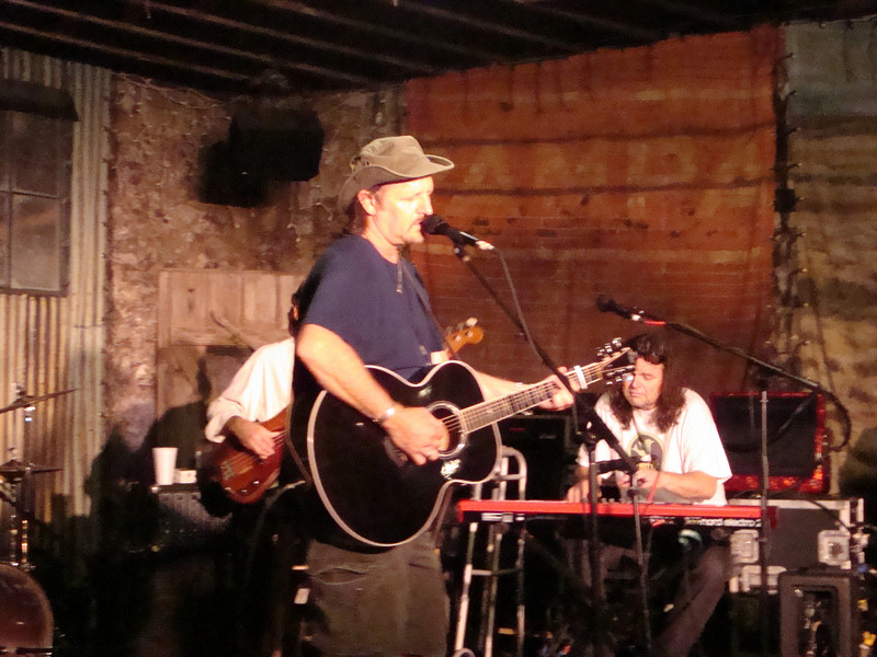 Jimmy LaFave starts off the Bob Childers tribute set at the Brick Street on Thursday, July 9.