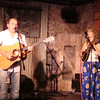 Chris O'Brien did a 4pm set at the Brick Street; Karen Mal on violin