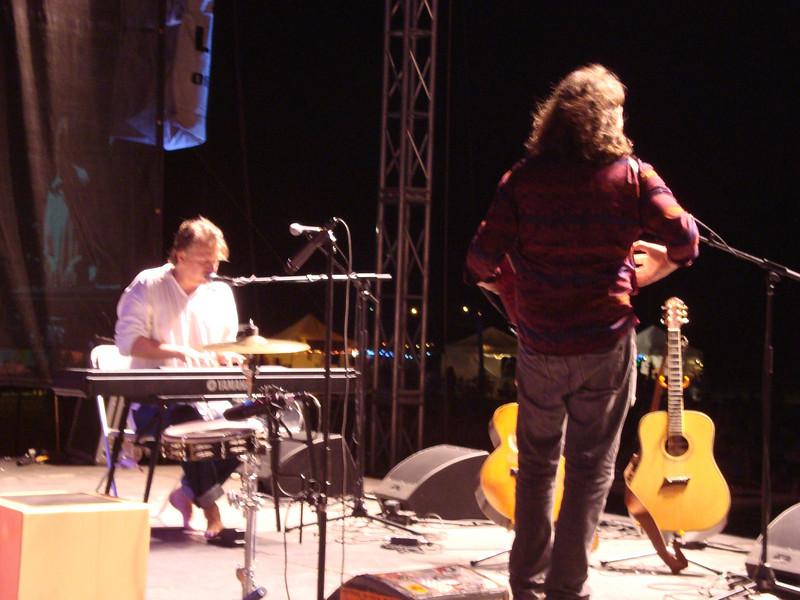 Rad moves to accordion when Ellis takes to the piano....