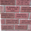 One of Ellis' bricks.